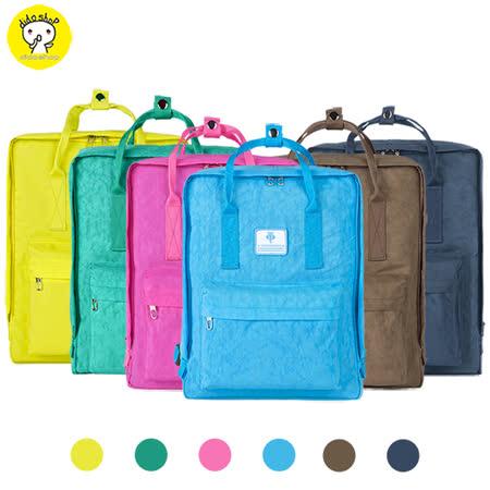 【dido shop】13吋 韓版休閒簡約筆電後背包 筆電包 (BK090)