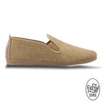 Flossy-(女款)OSUNA西班牙方便鞋-金色