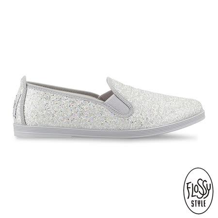 Flossy-(女款)ORBA西班牙方便鞋-銀色