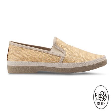 【勸敗】gohappy線上購物Flossy-(男款)CULLAR 西班牙方便鞋-天然褐有效嗎最 便宜 網 路 量販 店