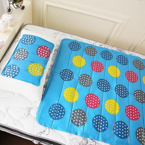 ~CoolCold~ 雙重強效防蚊激涼冷凝墊 1床1枕~泳池派對