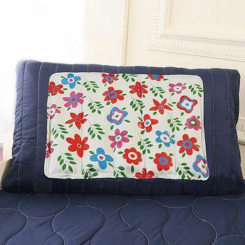【CoolCold】 雙重強效防蚊激涼冷凝墊 1枕-夏日花園