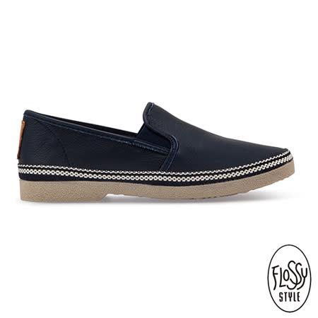 Flossy-(男款)LEON西班牙方便鞋-經典黑
