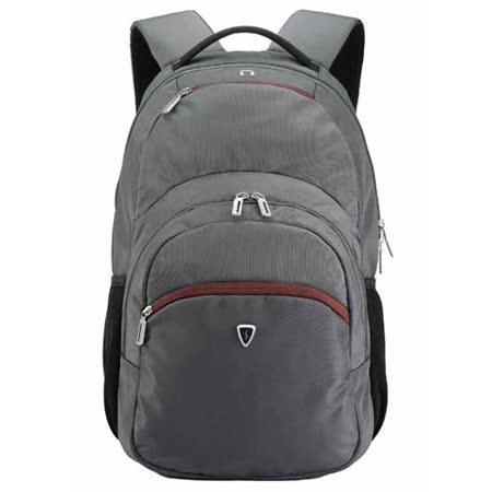 【SUMDEX】PON-391GY(灰)/RD(紅) 防雨二合一後背包(15吋筆電包+平板包) 旅行&出差 最佳選擇