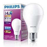 飛利浦LED廣角燈泡-黃光(14W)
