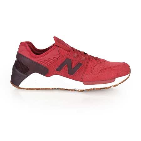 (男) NEWBALANCE 009系列 復古休閒鞋 - NB N字鞋 紅