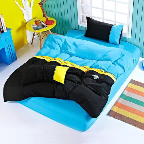 Aileen 足球 風~奧米伽~雙人四件式被套床包組