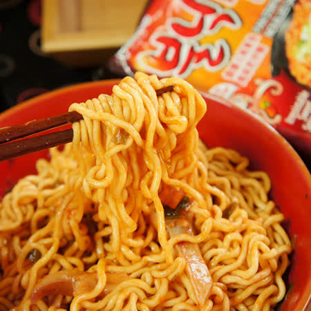 【Paldo八道】火辣章魚風味炒麵