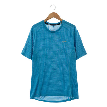 NIKE(男)運動短T 藍718349418