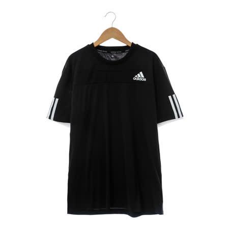 adidas(男)短袖上衣 黑AO2691