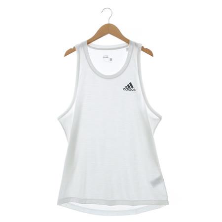 adidas 運動無袖上衣 白AI7473