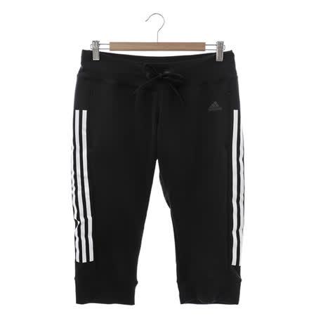 Adidas 愛迪達(女)七分褲 黑AJ4857