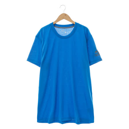 adidas(男)短袖上衣 藍AK0685