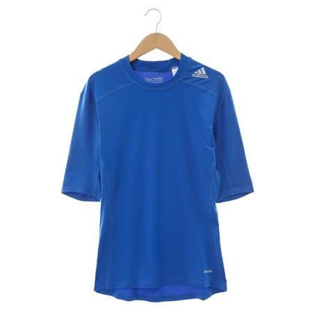 adidas(男) 短袖上衣 藍AI3355