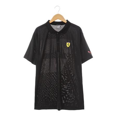 PUMA(男)法拉利POLO衫 黑76203702