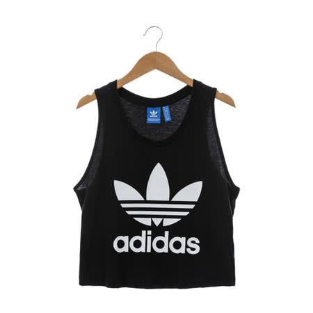 Adidas (女)背心 黑AY8135