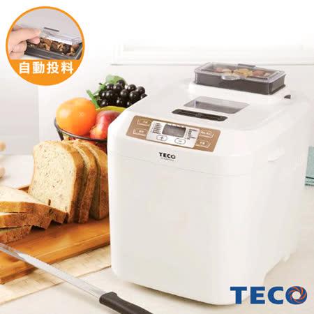 【網購】gohappy 線上快樂購【TECO東元】智慧型製麵包機(自動投料)XYFBM1333效果go happ