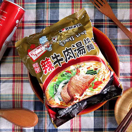 【KORMOSA韓寶】辣牛肉湯拉麵