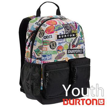 BURTON Youth Gromlet 兒童電腦 後背包 - 塗鴉貼紙