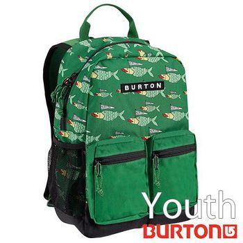 BURTON Youth Gromlet 兒童電腦 後背包 - 綠色小魚