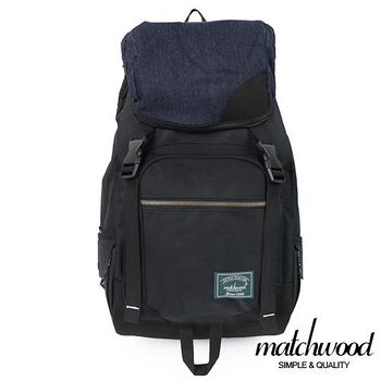 MATCHWOOD Apollo 電腦 後背包 -單寧X黑