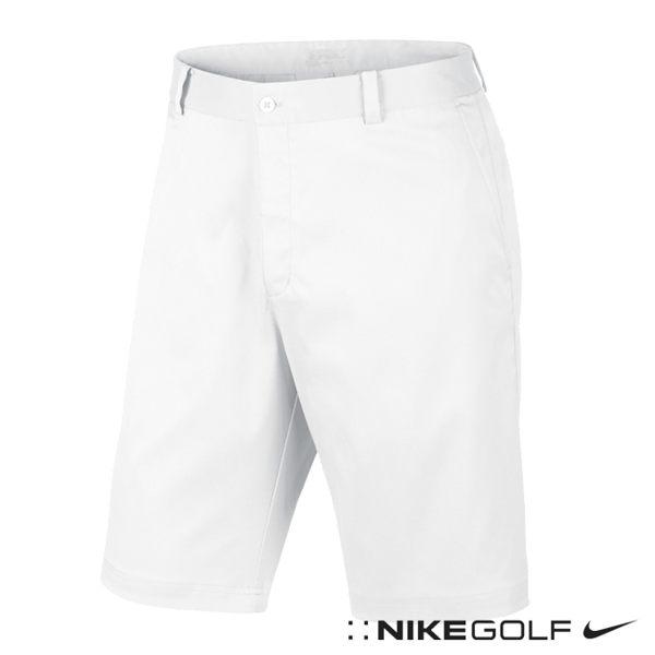 Nike Golf 排汗運動休閒素雅短褲 (白) 639805-100