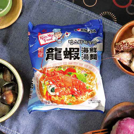【KORMOSA韓寶】龍蝦海鮮湯麵