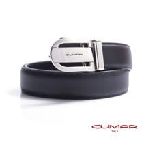 CUMAR 義大利牛皮鏤空造型紳士皮帶 0596-E39-01
