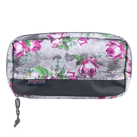 JanSport DIGITAL 收納包 (PIXEL ACCESSORY)-花漾灰
