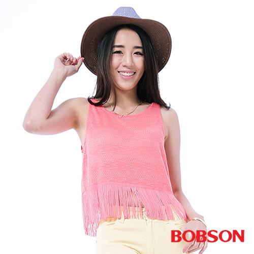 BOBSON 女款流蘇背心^(25153~23^)