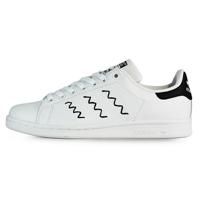 adidas 女 STAN SMITH W 愛迪達  復古鞋 ~ AQ3090