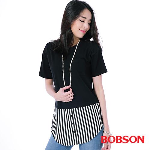 BOBSON 女款仿兩件式上衣^(26096~88^)