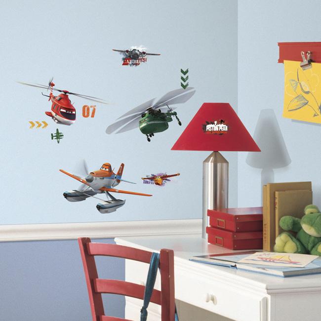 ~美國Roommates~童趣 壁貼_迪士尼直升機RMK2140