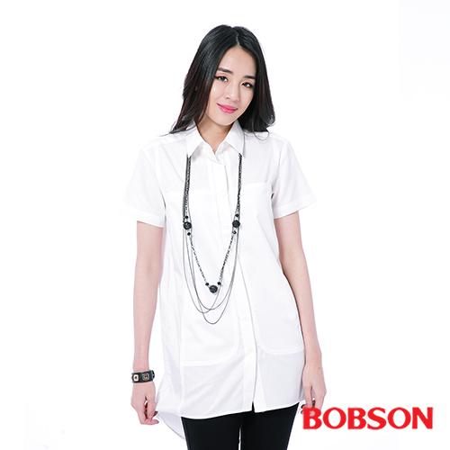 BOBSON 女款長版襯衫 ^(26127~80^)