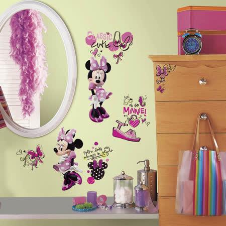 【美國Roommates】童趣創意壁貼_小米妮RMK2554