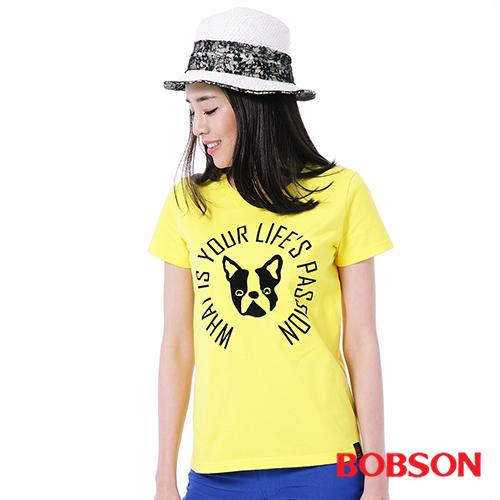 BOBSON 女款印圖上衣^(26141~30^)