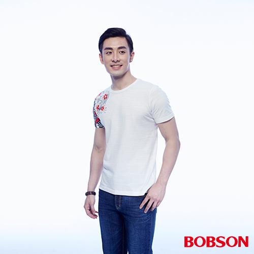 BOBSON 男款印圖上衣 ^(24038~81^)