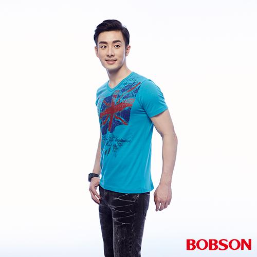BOBSON 男款印圖上衣 ^(24039~59^)