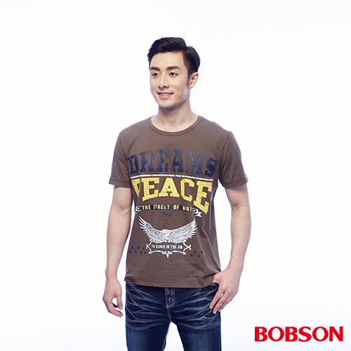BOBSON 男款印圖上衣 ^(24040~76^)