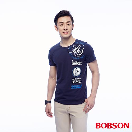 BOBSON 男款印圖上衣 ^(24042~53^)