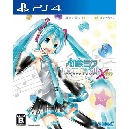 SONY PS4 遊戲 初音未來 -Project DIVA- X HD-中文版