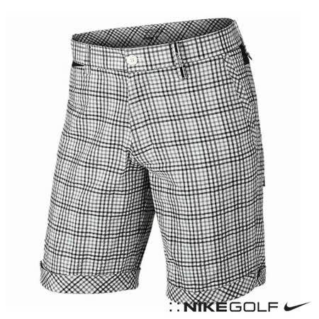 NikeGolf運動休閒排汗格紋短褲(灰)653787-072
