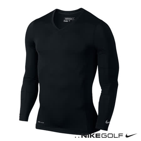 Nike 運動排汗長袖內搭防曬束衣(黑)639894-013