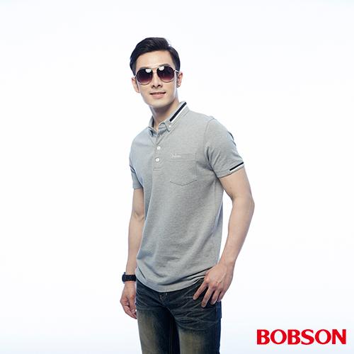 BOBSON 男款素面POLO上衣 ^(25023~83^)