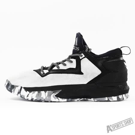 ADIDAS (男) 愛迪達 D LILLARD 2 籃球鞋 黑白-B42376