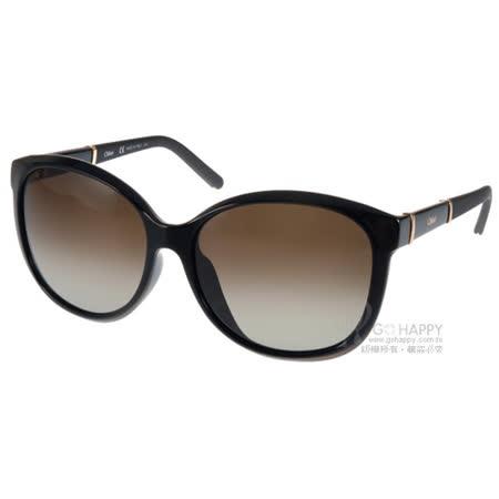 Chloe 太陽眼鏡 法式時尚唯美貓眼款(黑) #CL668SA 001