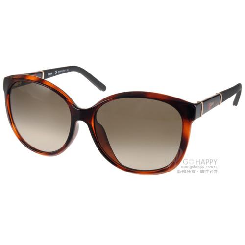 Chloe 太陽眼鏡 法式 唯美貓眼款^(琥珀^) ^#CL668SA 219