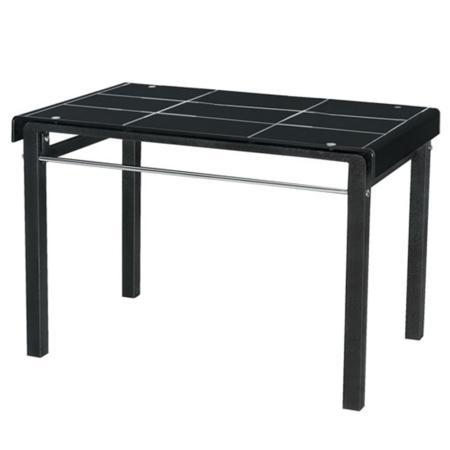 AT HOME-馬可3.6尺黑色長方桌