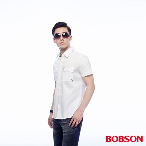 BOBSON 男款素面襯衫 ^(25042~80^)