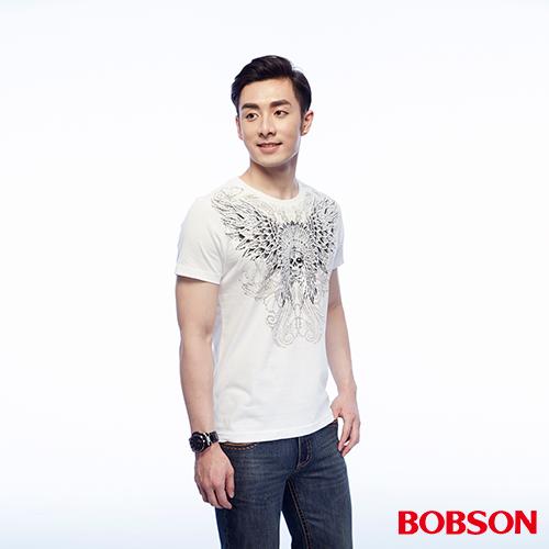 BOBSON 男款印圖上衣 ^(25046~80^)